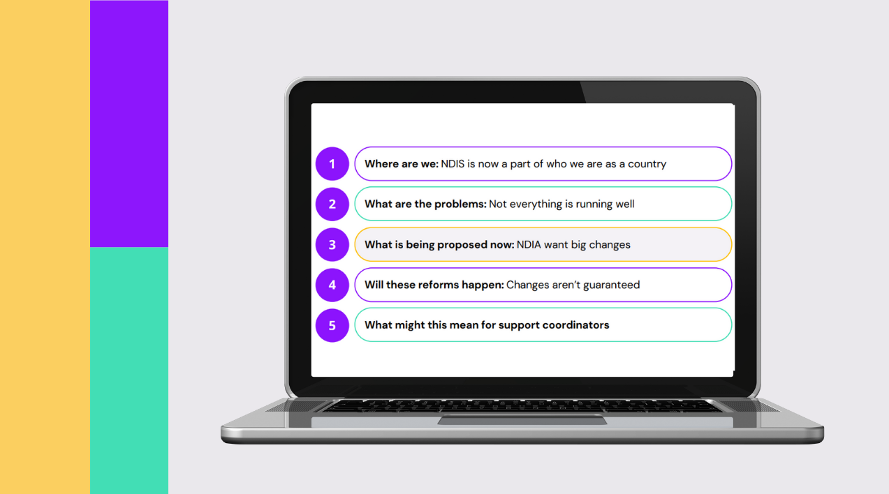 Webinar thumbnail for NDIS Reforms Update